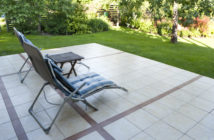 Terrasse i haven