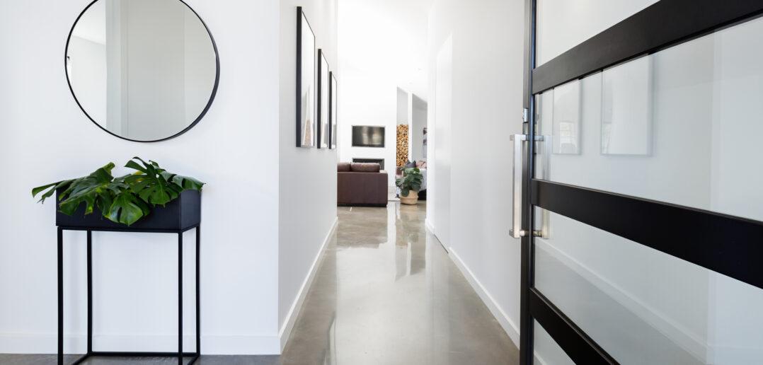 Moderne bolig