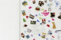 Køleskab med magneter
