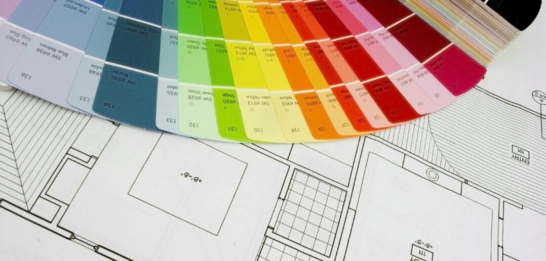 Boligprojekt og farvevalg