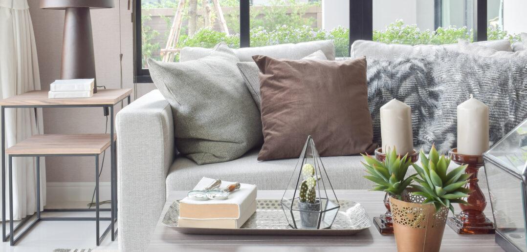 Sofabord og stue