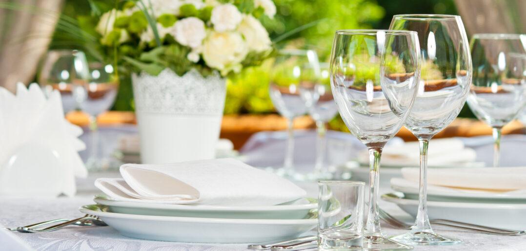 Pyntet bord